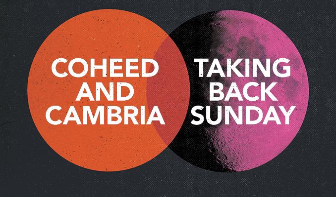 Coheed and Cambria + Taking Back Sunday